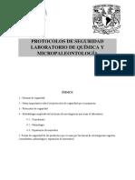 Protocolo Lab Quimica y Micropaleo