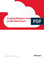 Creating Resilient Architectures on Microsoft Azure