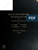 Design of Water Wor 00 Ditt
