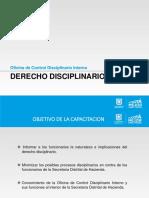 Control Interno Disciplinario