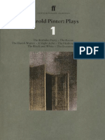 (Faber Contemporary Classics) Harold Pinter-Harold Pinter Plays 1_ The Birthday Party, the Room, the Dumb Waiter, a Slight Ache, the Hothouse, a Night out, the Black and White, the Examination-Faber &.epub