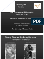 The History and Philosophy of Astronomy Lecture 23
