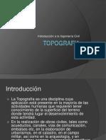 Topografia - Introduccion Ing. Civil