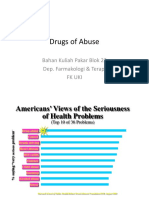 Drugs Abuse Oleh Dr. Abraham