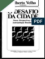 VELHO, Gilberto (org). O desafio da cidade.pdf