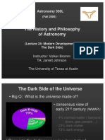 The History and Philosophy of Astronomy Lecture 24
