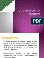 Discriminaci n Auditiva