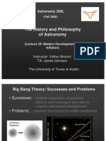 The History and Philosophy of Astronomy Lecture 25