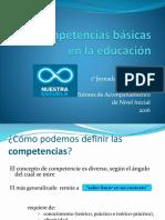 3° C- Las competencias básicas en educación