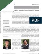 Huang2013 - Hidrolisis de Celulosa