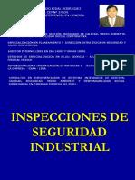 1.- Inspecciones de Seguridad Industrial
