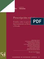 Cuaderno de Extensión Jurídica - La Prescripción Extintiva (Libro)