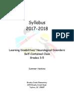 syllabus 2018-18