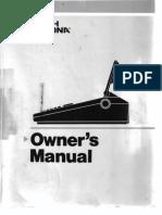 Smith Corona PWP3 Manual