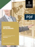 Brochure Maestría Economía - 2017