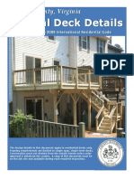Typical Deck Details