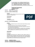 Especificaciones Tecnicas Quinuabamba 2