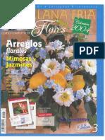 Porcelana Fría Flores Arreglos Florales Jazmines y Mimosas