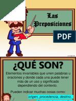 Las Preposiciones.