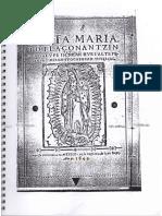 Santa Maria Iotlaconantzin - 1649