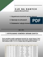 OPERACJE NA DANYCH - EXCEL.pptx
