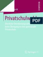 Privatschulwahl