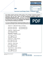 Technical Bulletin No. 112 - Roof and Floor Panel Transverse Load Design Charts - US Model Codes