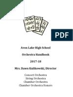 alhs orchestra handbook 17-18