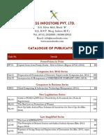 Catalogue Xcessbooks.com