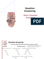 question answering