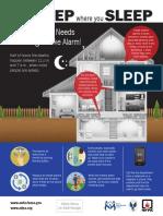 Smoke Alarm Infographic