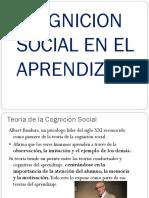 Congnicion Social en el aprendizaje