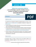 Clase 2 Primaria - Ciencias Sociales y Humanidades