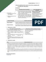 Estructura de Sesión de Aprendizaje_Modelo MINEDU 2017