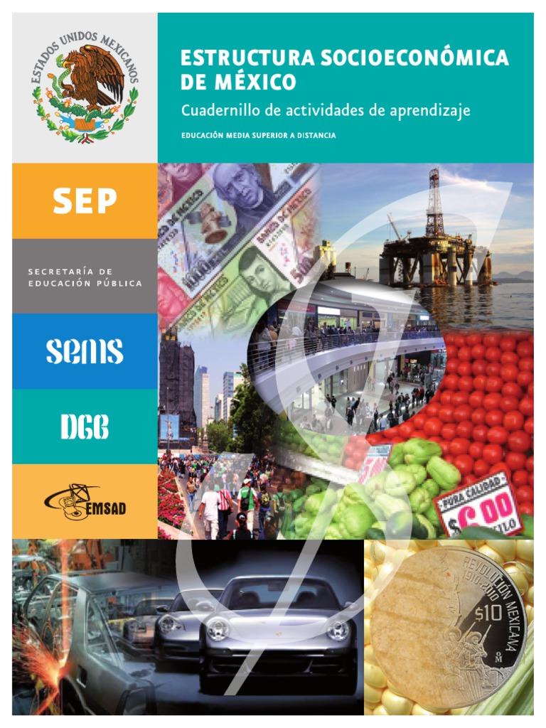 Estructura Socioeconómica De México Pdf