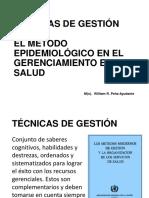 métodos epidemiologicos de gerencia en salud