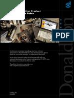 Guía de Referencia Cruzada Filtros Donaldson