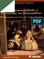 BARBERO, Graciela Haydée - Homossexualidade e Perversão Na Psicanálise