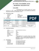 3.- Memoria Descriptiva Informe Final