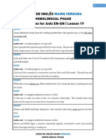 Lesson 19 - Sentences for Anki en-En