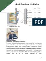 Fractional Destilation