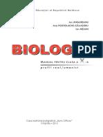 X_Biologia (in Limba Romana)