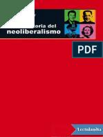Breve historia del Neoliberalismo - David W Harvey.pdf