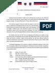 2018 Marathon Draft Appeal Letter