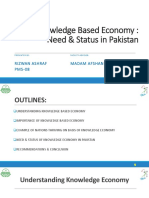 Knowledge Economy in Pakistan