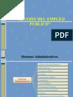 Presentacion Gestión Del Empleo Público