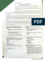 2° Bach. Exam practice Readings