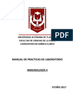 Manual Laboratorio Inmuno II Otoño 2017