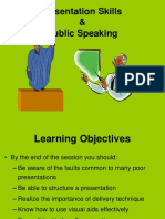 Presentation Skills & Public Speaking