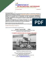 Le Information Du Centre de Documentation Et de Recherches Historiques 01
